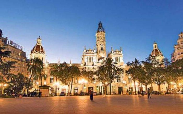 Valencia central square