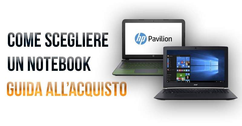 acquistare notebook